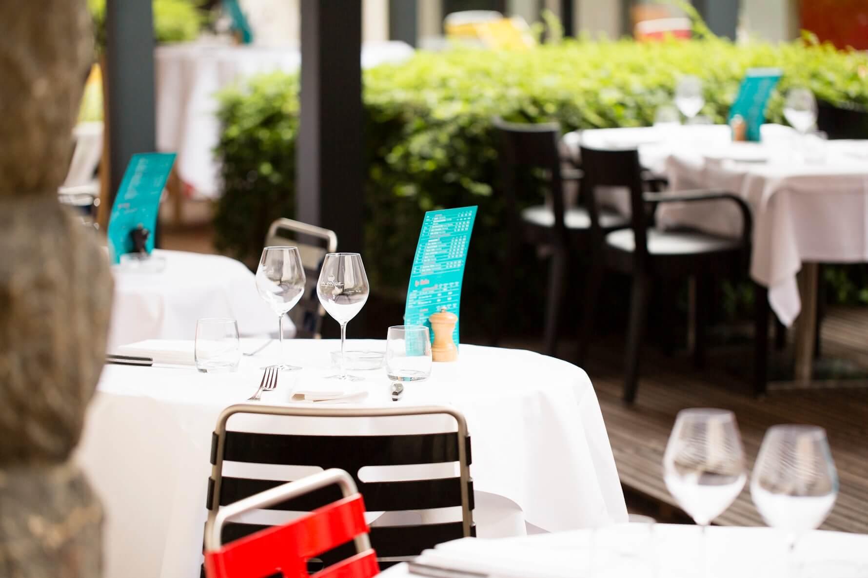 Ein köstliches Restaurant mit Terrasse im Haut Rhin   Bistrot La Cave