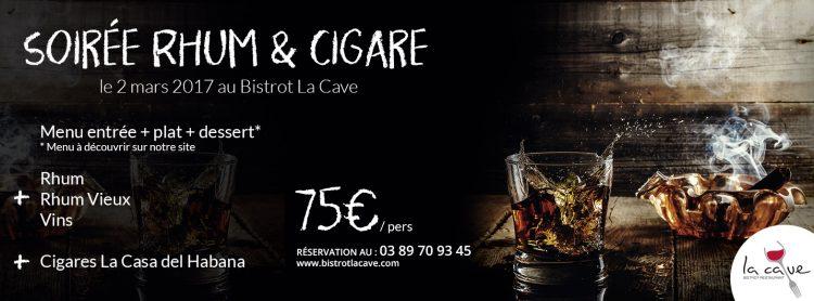 la villak soirée rhum cigare