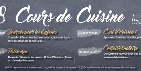 cours cuisine restaurant La Cave