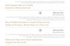 menu champagne boulard