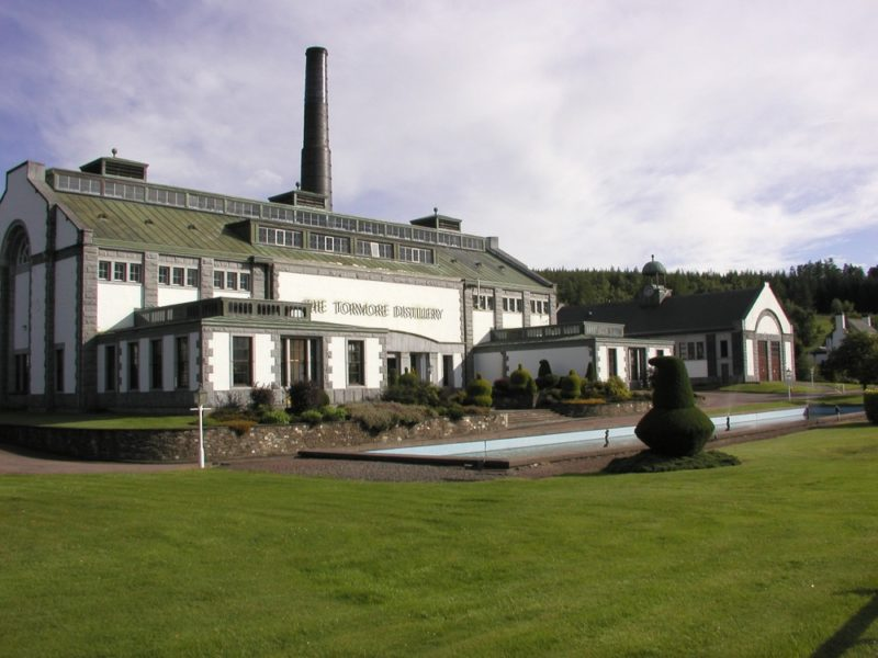 tormore distillerie whisky ecosse